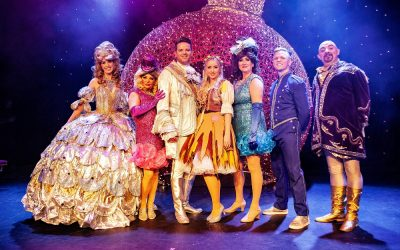 Four weeks until Cinderella has a ball at The Epstein Theatre