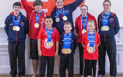 Eight members of Liverpool's North West Spirit Taekwondo team bring home 19 medals!