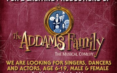 Casting call for 'Addams Family The Musical'
