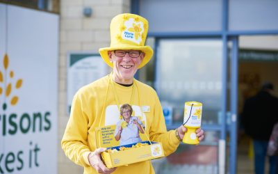 Morrisons in the North West helps raise thousands for Marie Curie's Great Daffodil Appeal