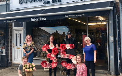 Booker Flowers & Gifts celebrate 35 years in business by rewarding 'Community Champions'